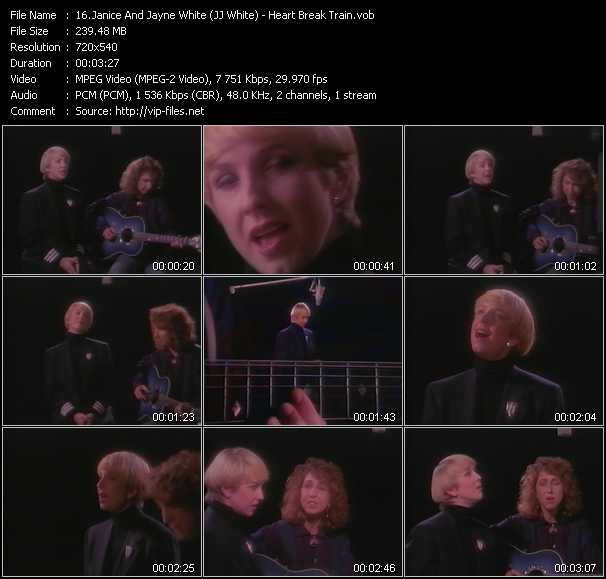 Janice And Jayne White (JJ White) video screenshot