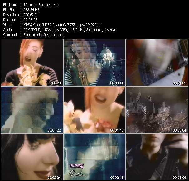Lush video screenshot