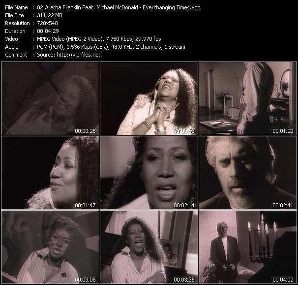 Aretha Franklin Feat. Michael McDonald video screenshot