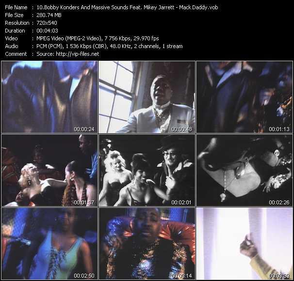Bobby Konders And Massive Sounds Feat. Mikey Jarrett video screenshot