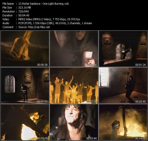 Richie Sambora video screenshot