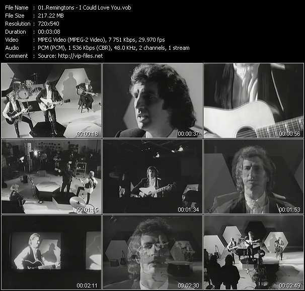 Remingtons video screenshot