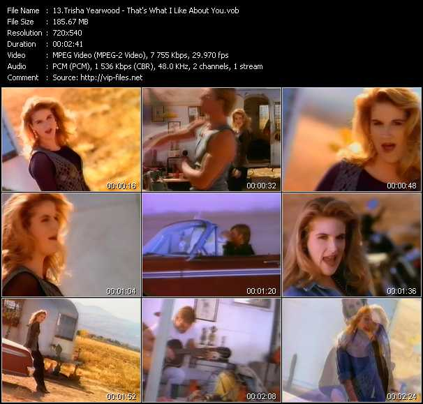 Trisha Yearwood video screenshot