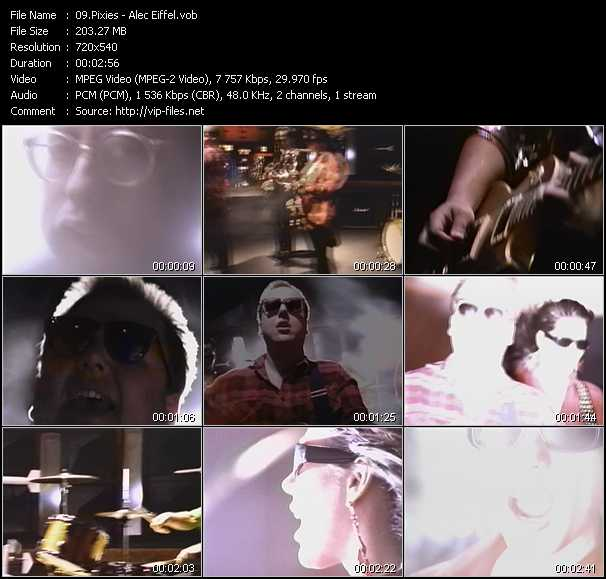 Pixies video screenshot