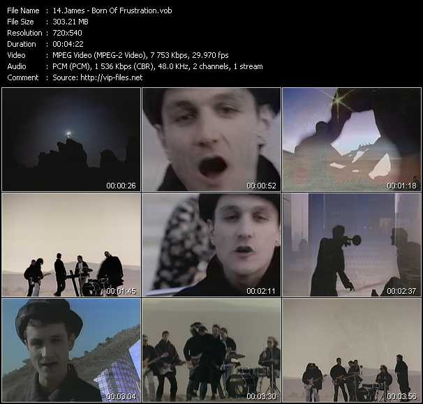 James video screenshot