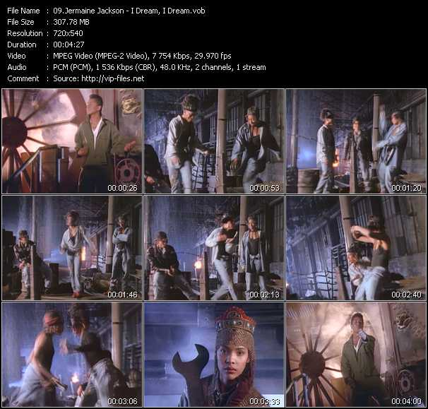 Jermaine Jackson video screenshot