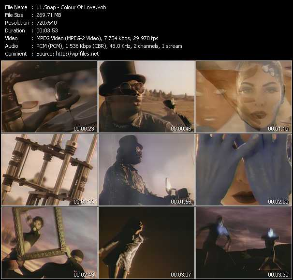 video The Colour Of Love screen
