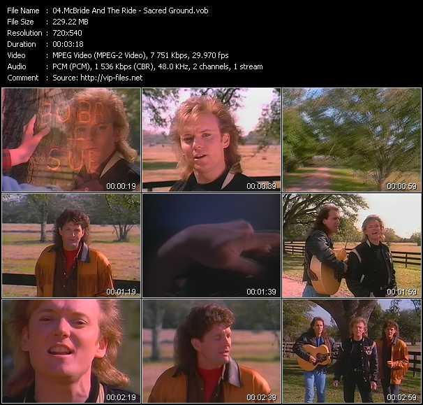 McBride And The Ride video screenshot