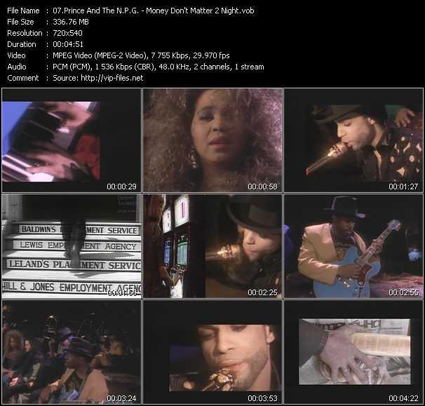 video Money Don't Matter 2 Night screen