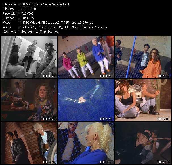 Good 2 Go video screenshot