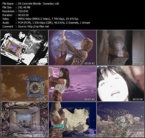 Concrete Blonde video screenshot