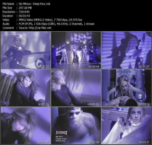 video Deep Kiss screen