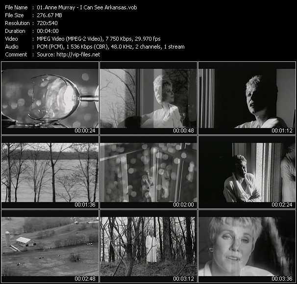 Anne Murray video screenshot