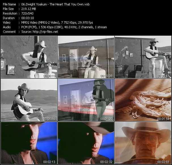 Dwight Yoakam video screenshot