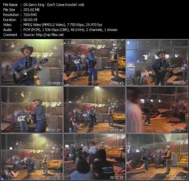 Gerry King video screenshot