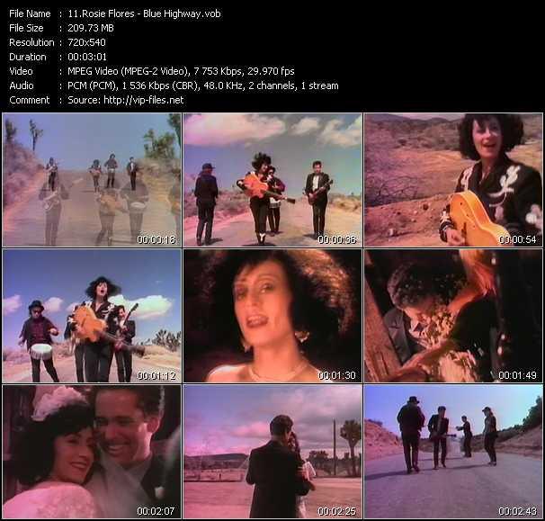 Rosie Flores video screenshot
