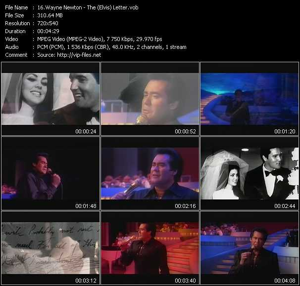 Wayne Newton video screenshot