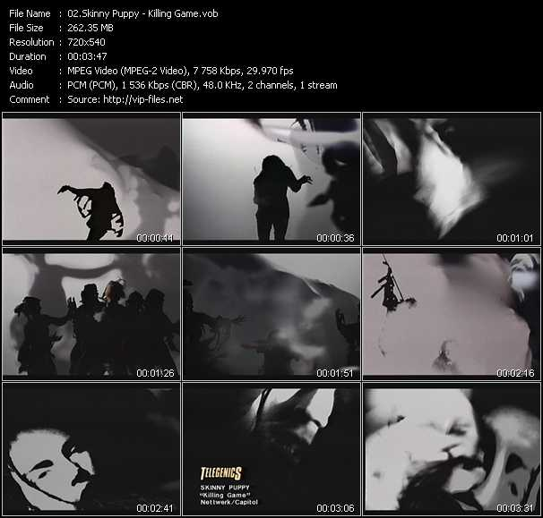 Skinny Puppy video screenshot