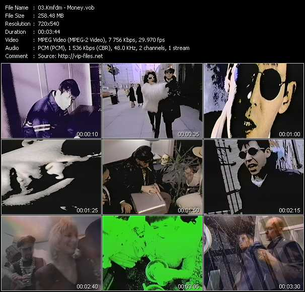 Kmfdm video screenshot