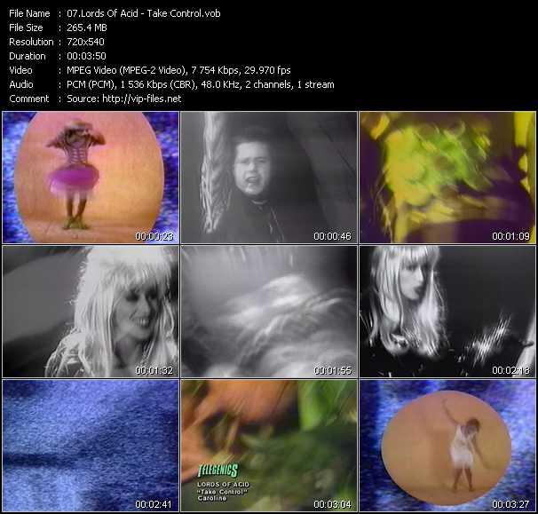 Lords Of Acid video screenshot