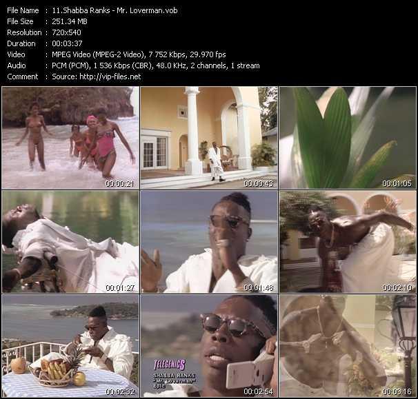 Shabba Ranks video screenshot