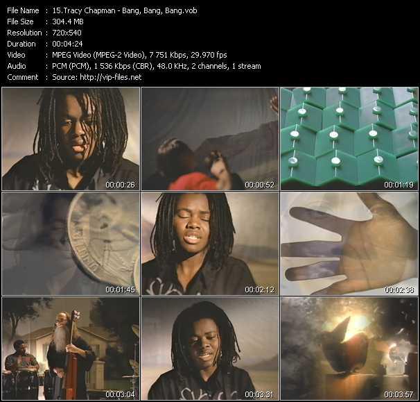 Tracy Chapman video screenshot