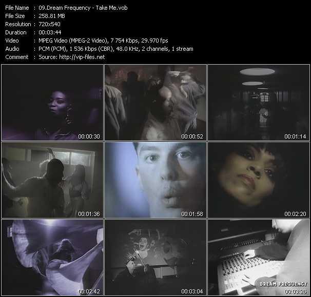 video Take Me screen