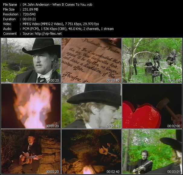 John Anderson video screenshot