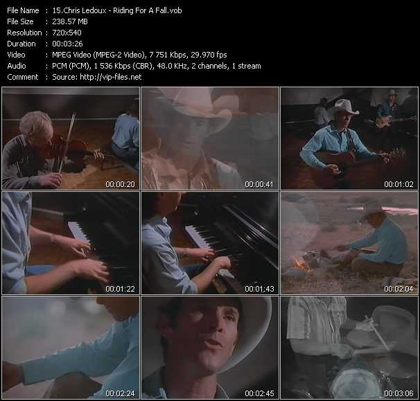 Chris Ledoux video screenshot