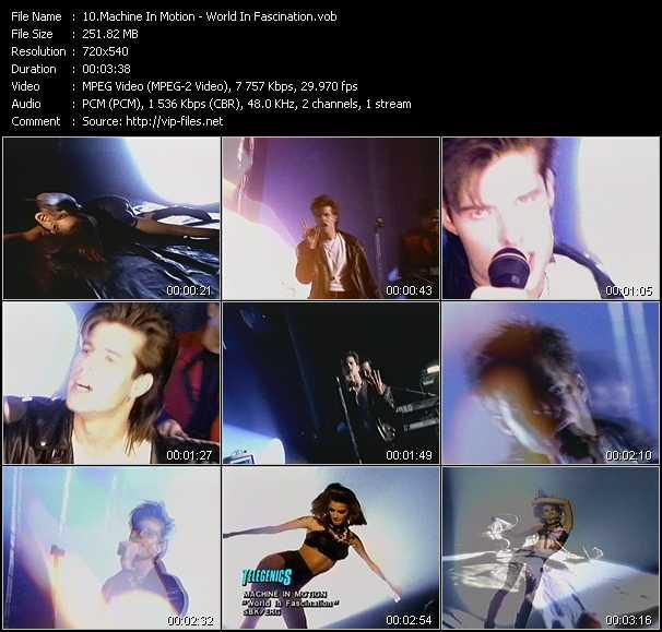 Machine In Motion video screenshot