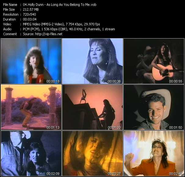 Holly Dunn video screenshot