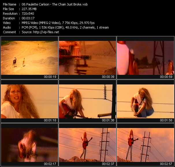 Paulette Carlson video screenshot
