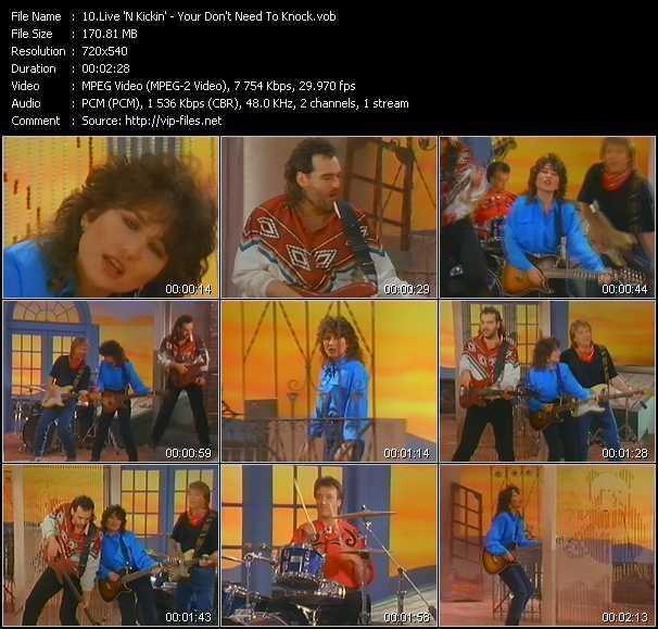 Live 'N Kickin' video screenshot