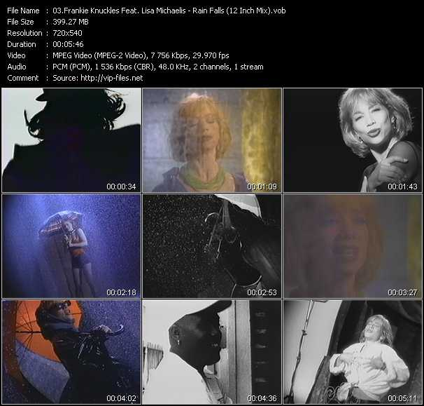 Frankie Knuckles Feat. Lisa Michaelis video screenshot