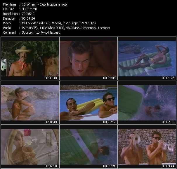 video Club Tropicana screen