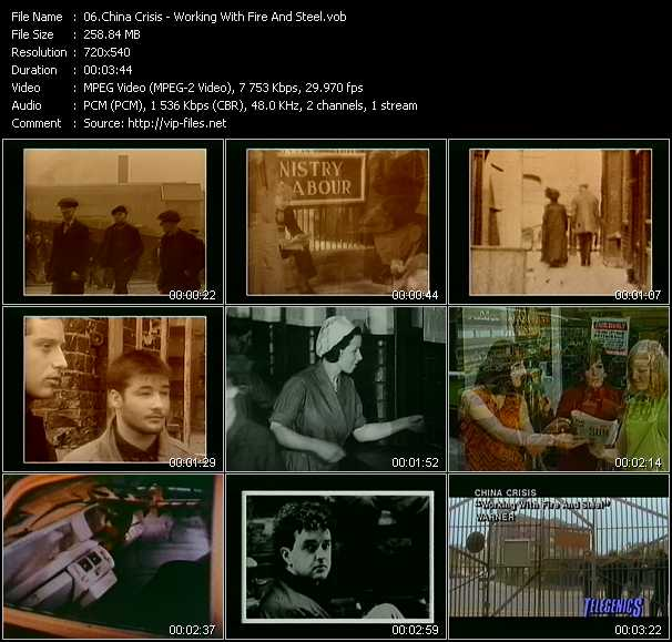 China Crisis video screenshot