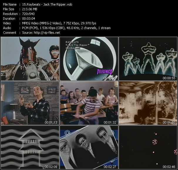 Raybeats video screenshot