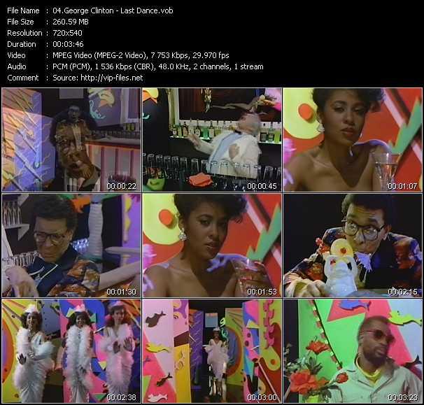 video Last Dance screen