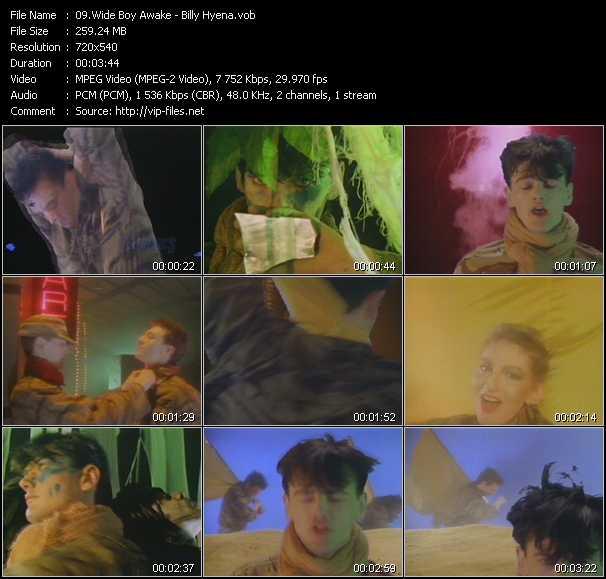 Wide Boy Awake video screenshot