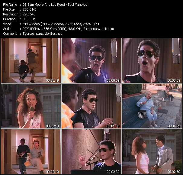 Sam Moore And Lou Reed video screenshot