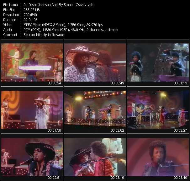 Jesse Johnson And Sly Stone video screenshot