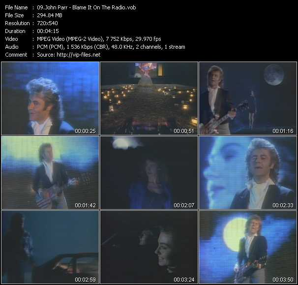 John Parr video screenshot