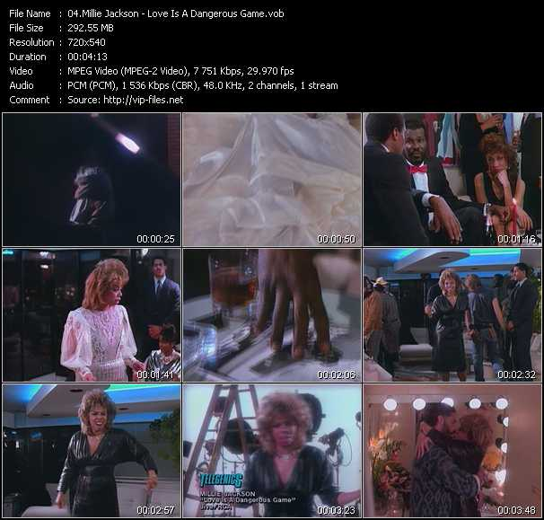 Millie Jackson video screenshot