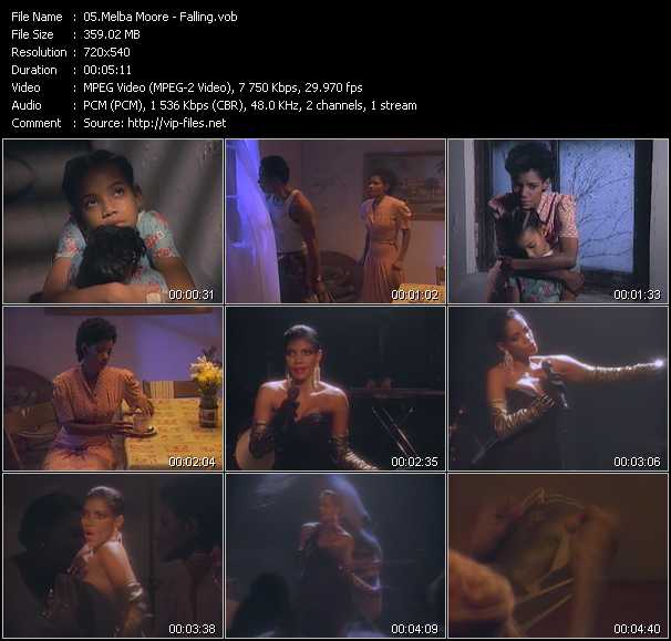 Melba Moore video screenshot