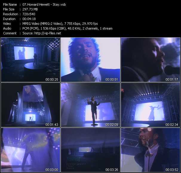Howard Hewett video screenshot
