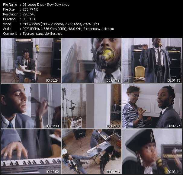 Loose Ends video screenshot