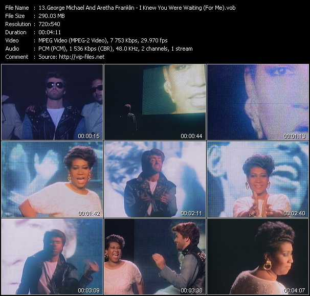 George Michael And Aretha Franklin video screenshot