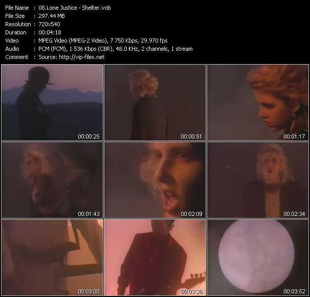 Lone Justice video screenshot