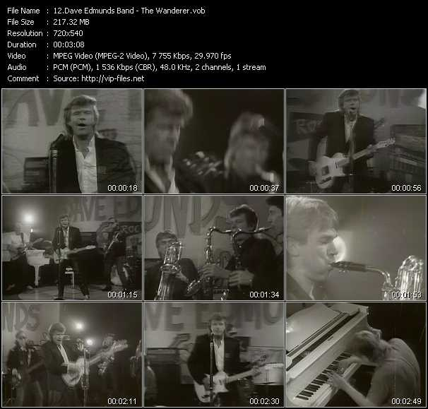 Dave Edmunds Band video screenshot