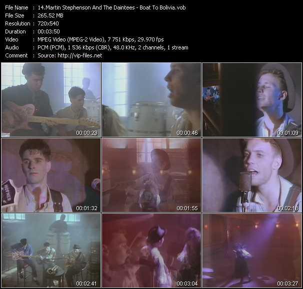 Martin Stephenson And The Daintees video screenshot
